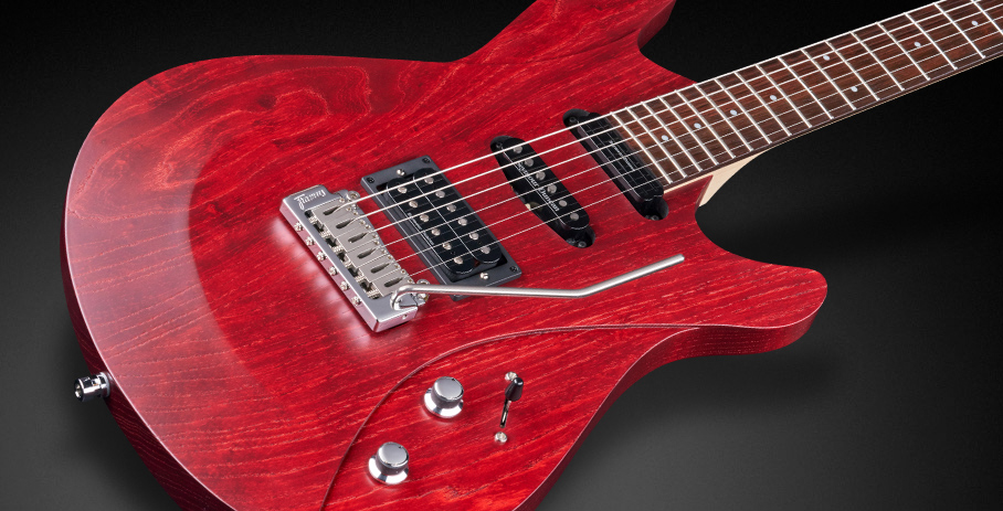 GPS Diablo II Pro - Burgundy Red Transparent Satin