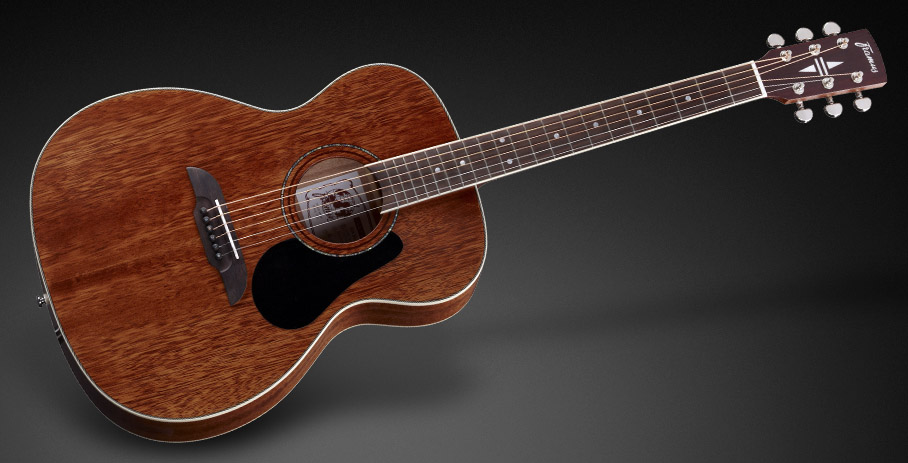 FF 14 Solid Mahogany Top - Natural Transparent Satin