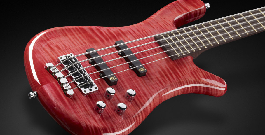 Streamer LX #1023 - AAA Colored Flamed Maple