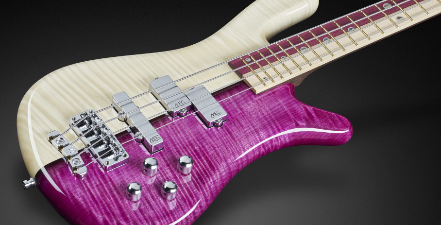 Streamer LX #16-3181 - AAA Colored Flamed Maple with Chrome Pickups