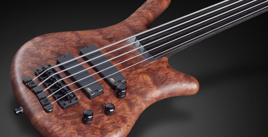 Thumb NT #16-3164 - Bubinga Pommele Body with Soapbar Pickups