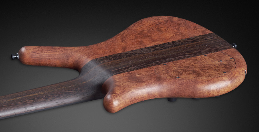 Thumb NT #16-3164 - 7 Stripe Laminated Wenge Neck