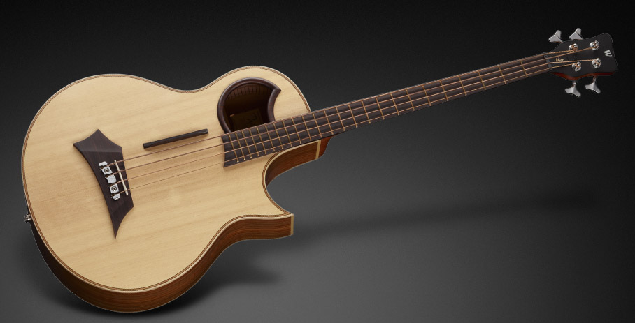 Warwick Alien 4 - Natural Transparent Satin