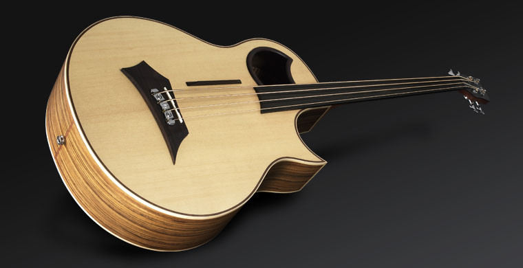 Warwick Alien 4 - Natural Transparent Satin - Fretless